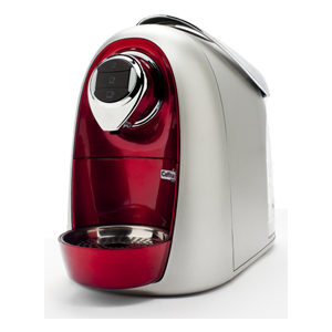 Caffitaly S04 Rouge/Argent